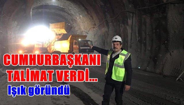 Mithatpaşa tünellerinde sona yaklaşıldı