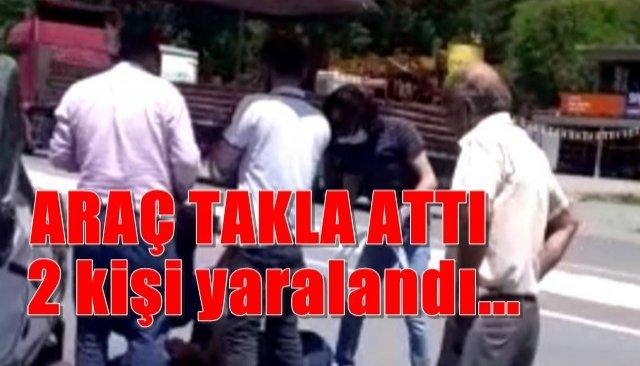 Zonguldak-Ankara yolunda kaza... 2 yaralı