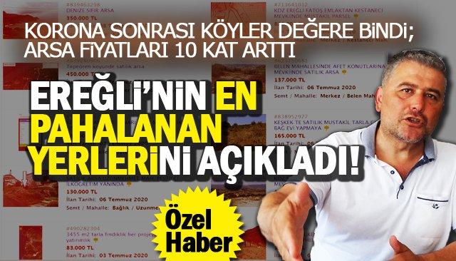ARSA FİYATLARI 10 KAT ARTTI!