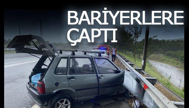 BARİYERLERE ÇAPTI