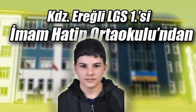 Kdz. Ereğli LGS 1.'si İmam Hatip Ortaokulu'ndan