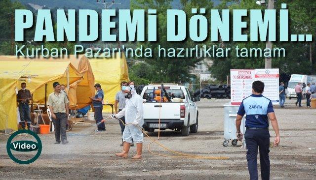 Pandemi döneminde kurban pazarı