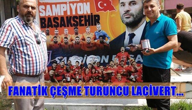 FANATİK ÇEŞME TURUNCU LACİVERT...