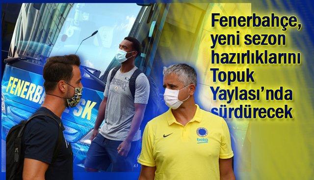 Fenerbahçe basketbol takımı Düzce´de...