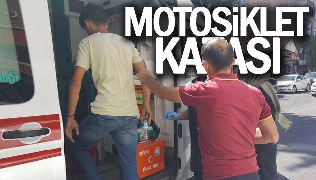 MOTOSİKLET KAZASI