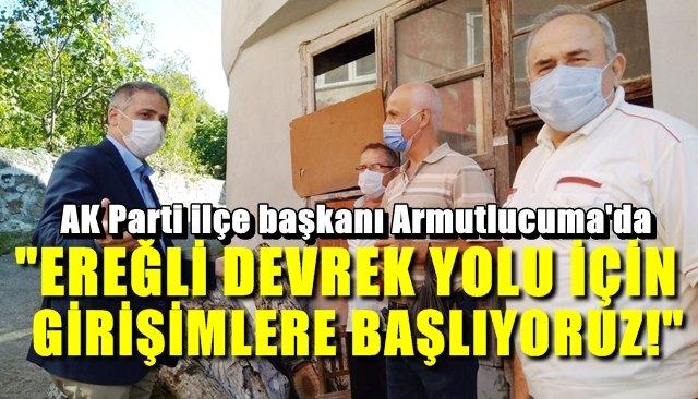 AK Parti İlçe Başkanı Bozkurt'tan Armutlucuma çıkarması…