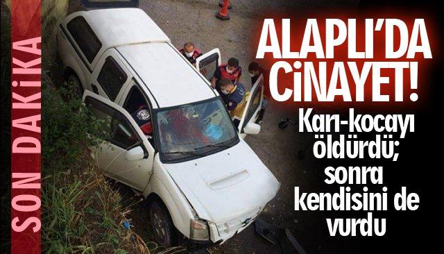 ALAPLI'DA CİNAYET!