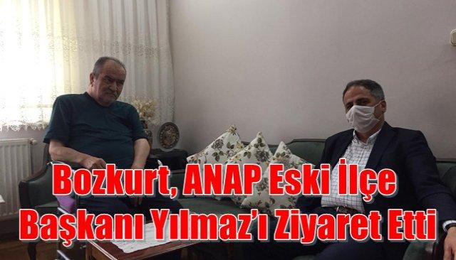 Bozkurt, ANAP ilçe başkanı Yılmaz'ı ziyaret etti