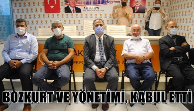 BOZKURT VE YÖNETİMİ, KABUL ETTİ