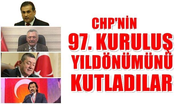 CHP'nin kuruluş yıldönümünü kutladılar
