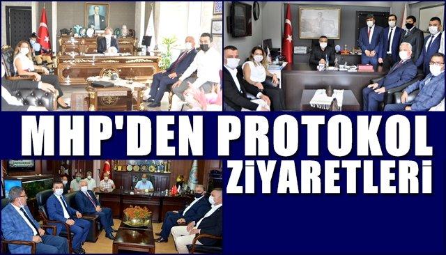 MHP'den protokol ziyaretleri…