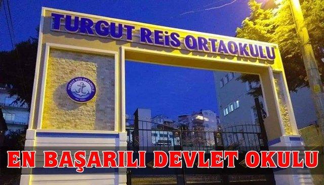 Turgut Reis Ortaokulu'nun LGS başarısı