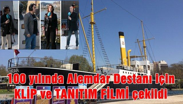 100 yılında Alemdar Destanı için klip ve tanıtım filmi çekildi