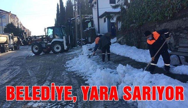 BELEDİYE, YARA SARIYOR
