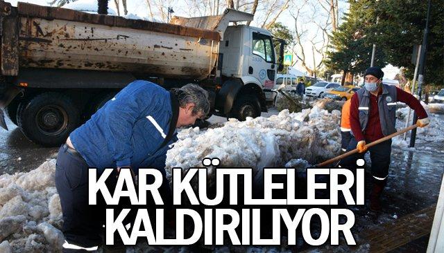 KAR KÜTLELERİ KALDIRILIYOR