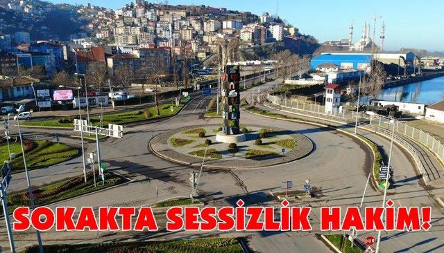 SOKAKTA SESSİZLİK HAKİM!