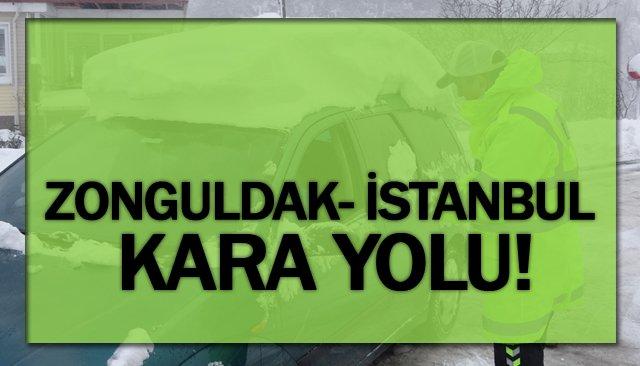 ZONGULDAK-İSTANBUL YOLU!
