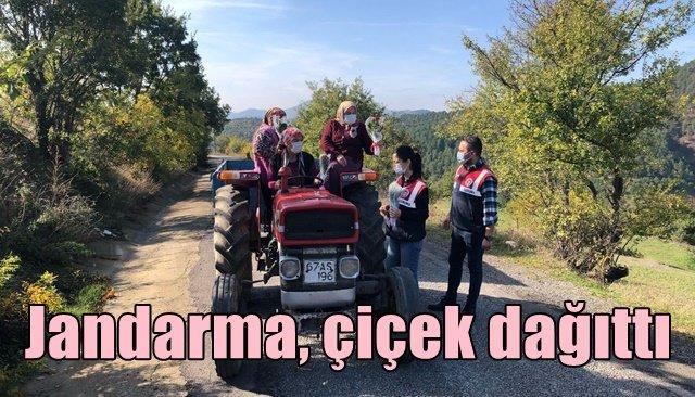 """Jandarma Kadın Çiftçileri"""" unutmadı"""