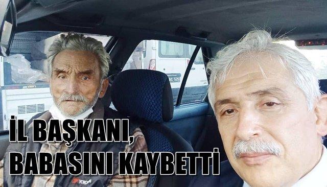 MHP İl Başkanı Demirköse babasını kaybetti