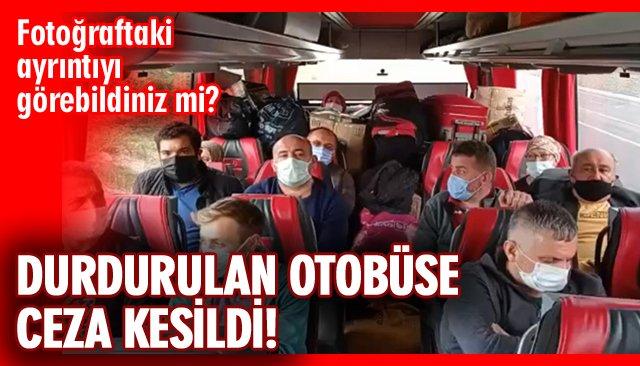 OTOBÜS FİRMASINA KESTANE CEZASI!