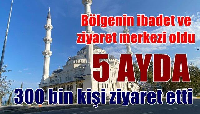 Uzun Mehmet'e Camii'ne büyük ilgi…