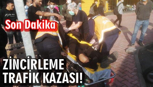 ZİNCİRLEME TRAFİK KAZASI!