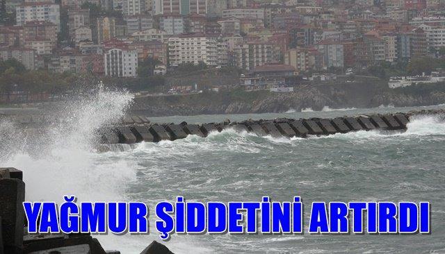 Zonguldak'ta şiddetli yağmur