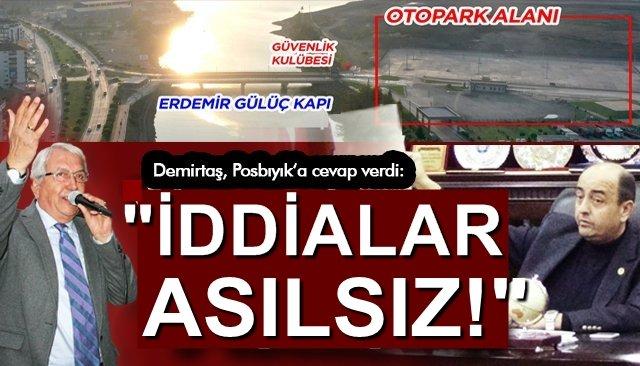 """""""İDDİALAR ASILSIZ!"""""""