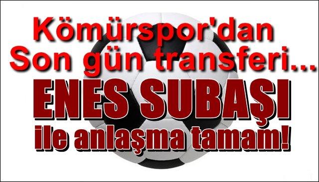 Zonguldak Kömürspor´dan son gün transferi