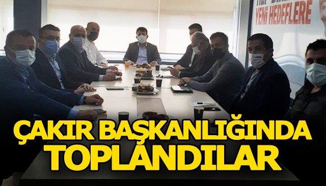 Ak Parti Yerel Yönetimler Birimi toplandı