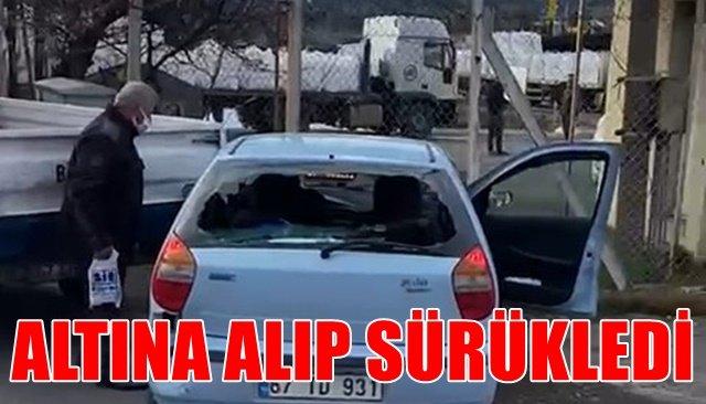 ALTINA ALIP SÜRÜKLEDİ