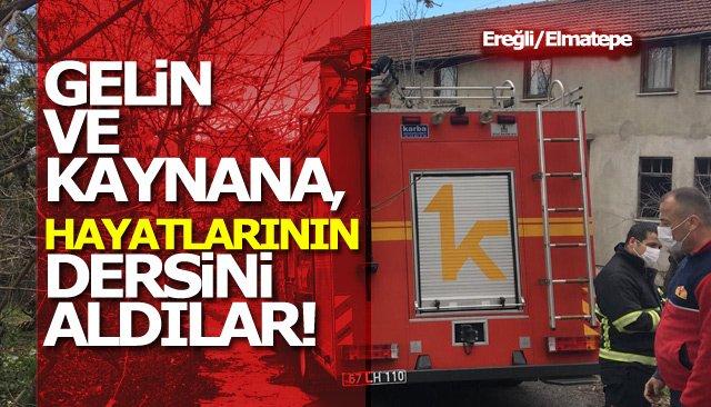 BENZİN VE GAZLA, SOBA YAKMAK İSTEDİLER!!!