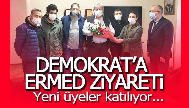 ERMED'DEN DEMOKRAT'A ZİYARET