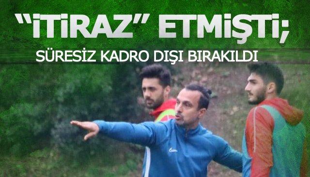 """""""İTİRAZ"""" ETMİŞTİ; SÜRESİZ KADRO DIŞI BIRAKILDI"""