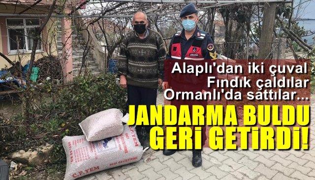 JANDARMA BULDU, GERİ GETİRDİ...