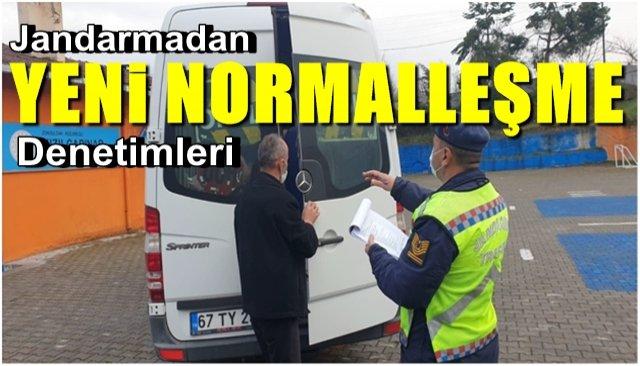 """Jandarmadan """"Yeni Normalleşme"""" faaliyetleri"""