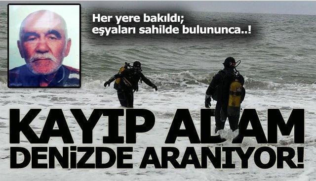 KAYIP ADAM, DENİZDE ARANIYOR!