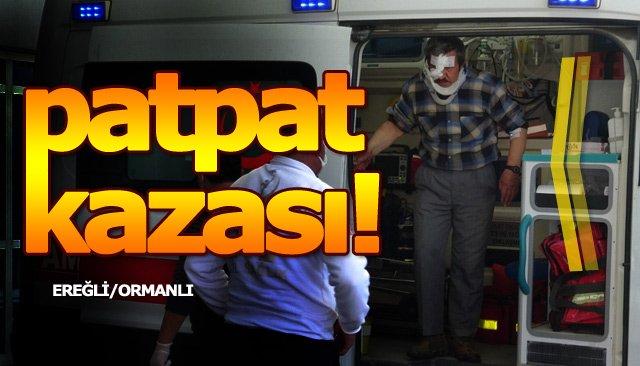 TARIM ARACI DEVRİLDİ!
