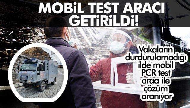 MOBİL TEST ARACI GETİRİLDİ!