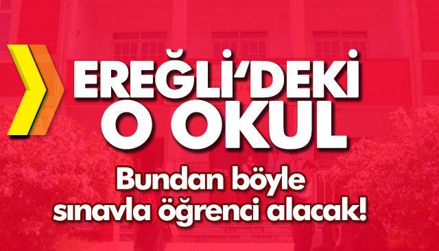 ÖĞRENCİLERİNİ SINAVLA ALACAK!