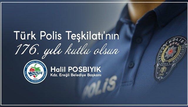 POSBIYIK, POLİS HAFTASINI KUTLADI