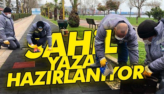 SAHİL, YAZA HAZIRLANIYOR