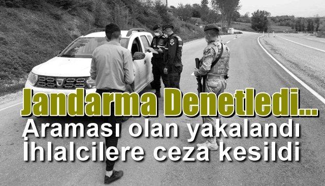 Araması bulunanlar yakalandı, ihlalcilere ceza kesildi