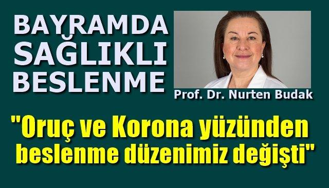 """""""Beslenme düzenimiz değişti... BAYRAMDA DİKKAT!´´"""