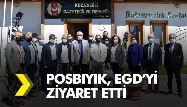 POSBIYIK, EGD'Yİ ZİYARET ETTİ