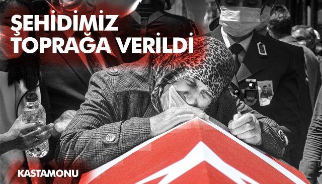 ŞEHİT UZMAN ÇAVUŞ MURAT NAR, TOPRAĞA VERİLDİ
