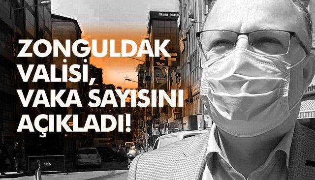 VALİ TUTULMAZ, VAKA SAYISINI AÇIKLADI!