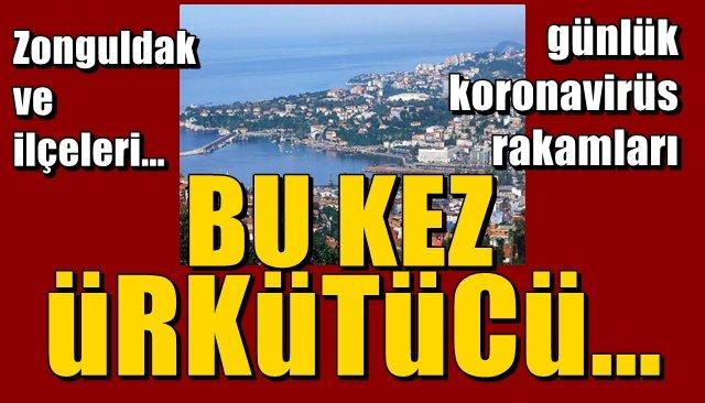 Zonguldak… 29 Haziran… Koronavirüs vakaları… BU KEZ ÜRKÜTÜCÜ…