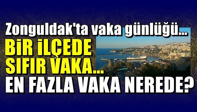 Zonguldak'ta vaka günlüğü… Bir ilçede sıfır vaka… EN FAZLA VAKA NEREDE?