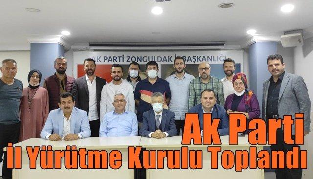 Ak Parti  İl Yürütme Kurulu Toplandı